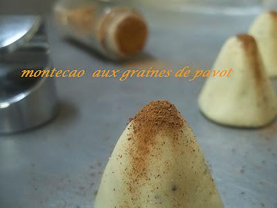 Montecao aux graines de pavot - recette indexée dans les Desserts