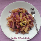 Purple pasta-Pasta with red cabbage