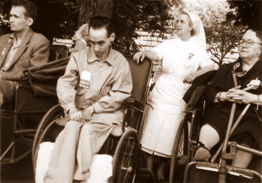 Beato Manuel Lozano Garrido en Lourdes