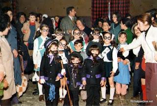Carnavales en Candelario Salamanca años 70