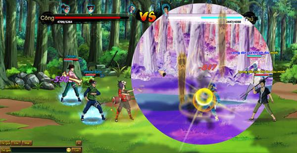 Điểm mặt 4 trò chơi mang đề tài Ninja vừa đến VN 1