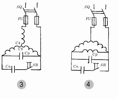 конденсатора для двигателя