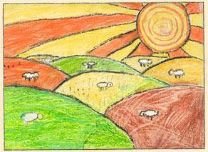 Dibujo de Sol Daiana Murua