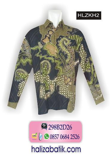 atasan batik modern, model kemeja batik pria, baju batik atasan
