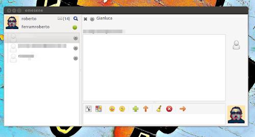 Emesene 2.12.5 su Ubuntu 12.04