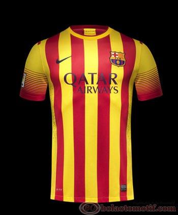 Jersey Away Barcelona 2014