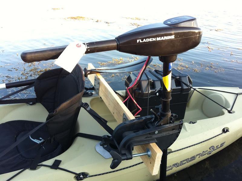 Diy Trolling Motor Mount For Kayak - DIY Campbellandkellarteam