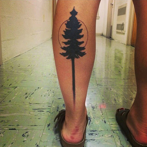 58 coolest tree tattoos designs and ideas. Black Bedroom Furniture Sets. Home Design Ideas