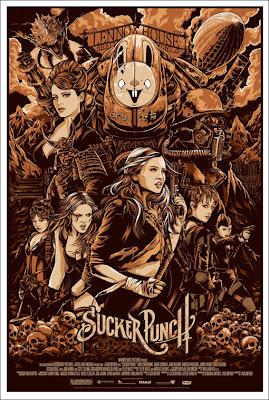 Mondo - Sucker Punch Variant Edition Screen Print by Ken Taylor
