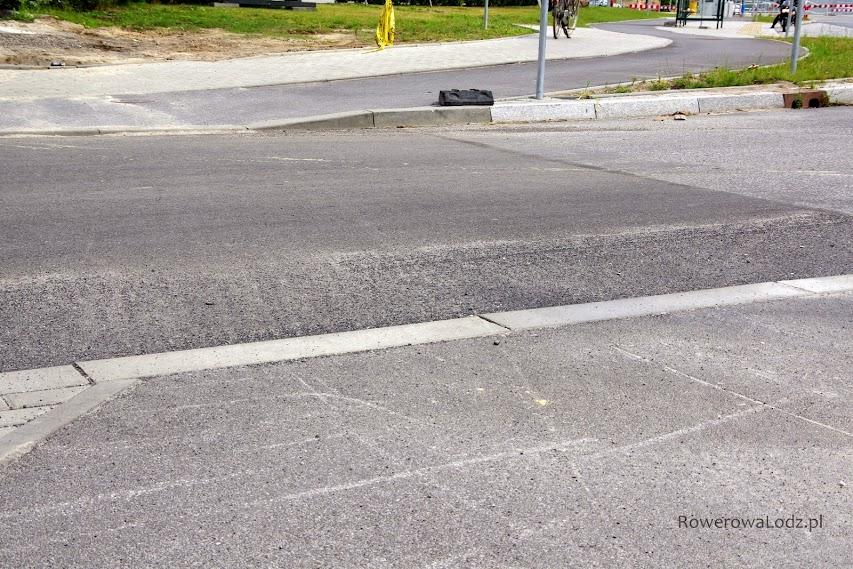 Dla większości rowerów pojechanie (zgodnie z intuicją) na wprost, może zakończyć się nieprzyjemnie.