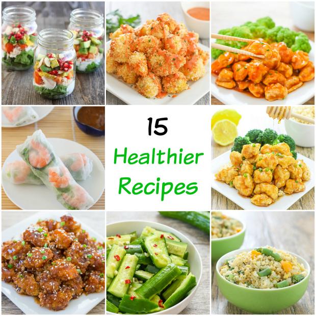 15 Healthier Recipes