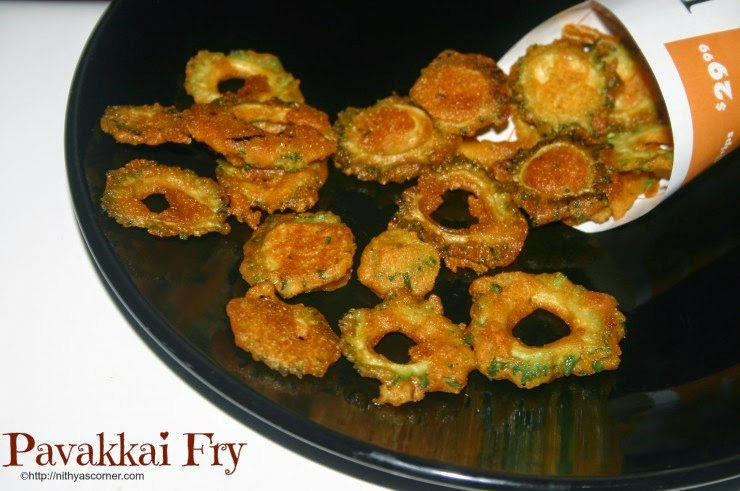 how to make pavakkai fry
