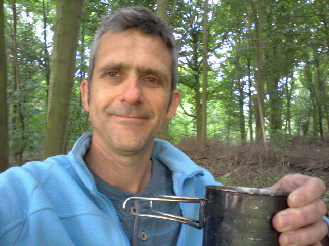 Tea in the woods, hard to beat.