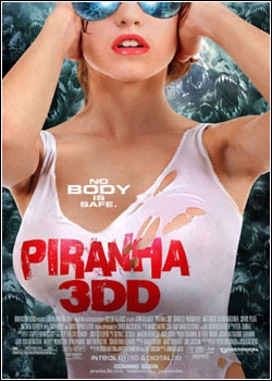 Filme Poster Piranha 2 HDRip XviD & RMVB Legendado