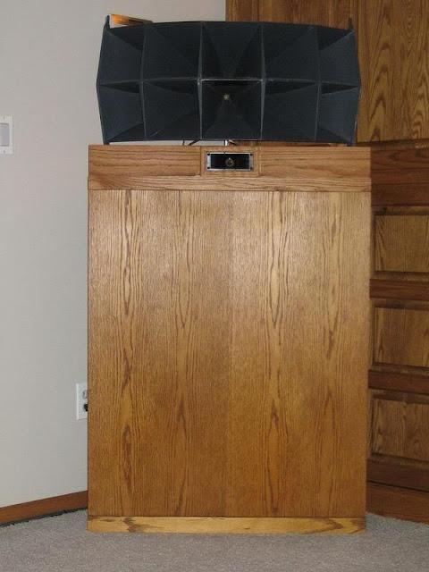 klipschorn meets altec retrovoltage. Black Bedroom Furniture Sets. Home Design Ideas