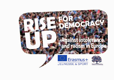 Call for Partners - European Training Course - Rise Up For Democracy Against Intolerance And Racism - Spring 2015 - North of France. More informations : www.histoiredesavoirs.com / riseup.against.farright.europe@gmail.com