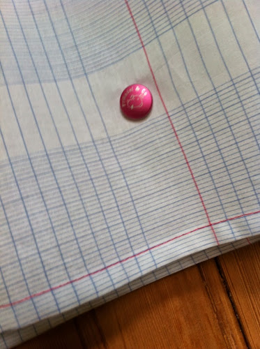 Tissu cahier frikadel