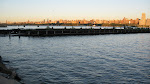 Signs of West New York's previous life as a dock city
