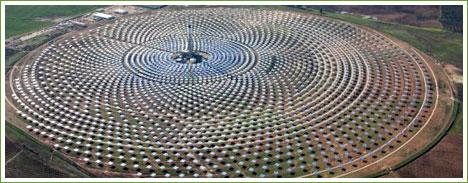 Planta Solar en España Genera Energía las 24 horas del Día