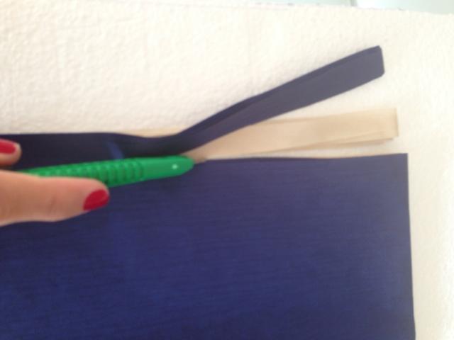 Guirnalda de pompones de papel de seda DIY