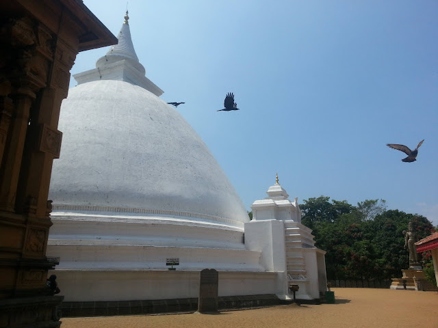 Isipathanaramaya Temple Shrine