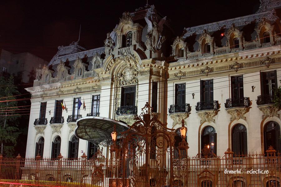 Palatul Cantacuzino Bucuresti Bucharest palace arhitectura eclectic George Enescu muzica
