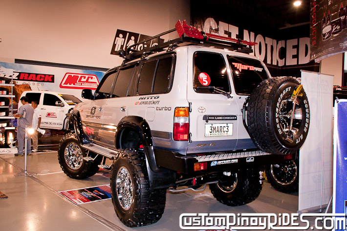 Mark Martinez 1996 Toyota Land Cruiser 80 Jeffs Off Road Shop Manila Auto Salon Custom Pinoy Rides pic5