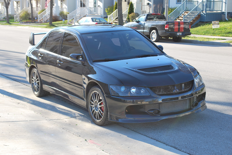 Wtt Blacked Out Headlights For Evo 9 Headlights Evolutionm Mitsubishi Lancer And Lancer