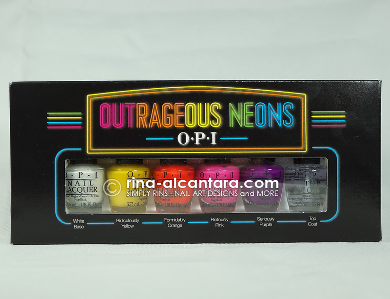 OPI Outrageous Neons