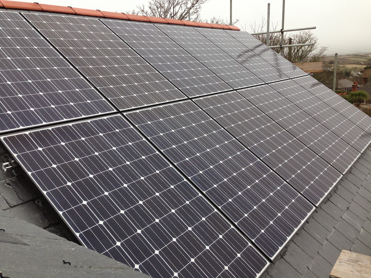 Natural Generation supplied LG panels