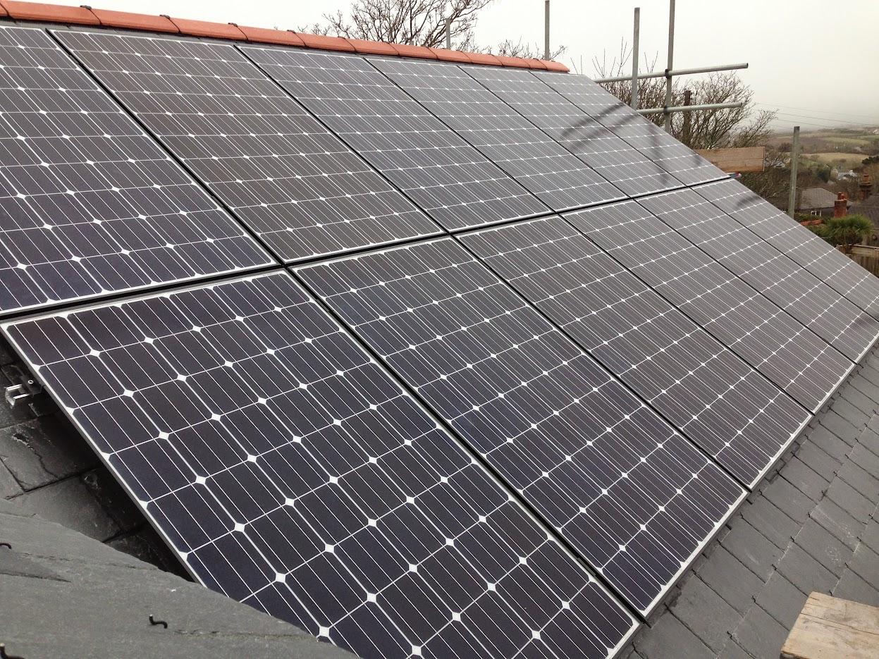 Natural Generation supplied LG panels