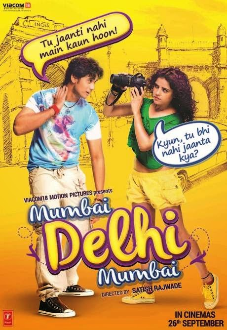 Poster Of Hindi Movie Mumbai Delhi Mumbai (2014) Free Download Full New Hindi Movie Watch Online At Alldownloads4u.Com