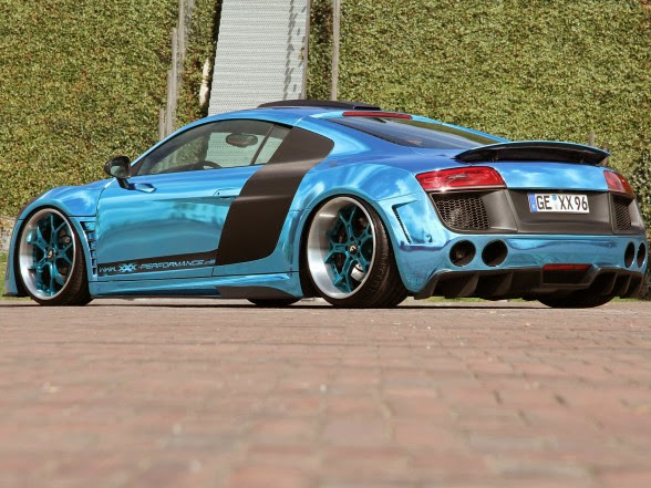 2013 XXX Performance Audi R8 V10 - Rear Side