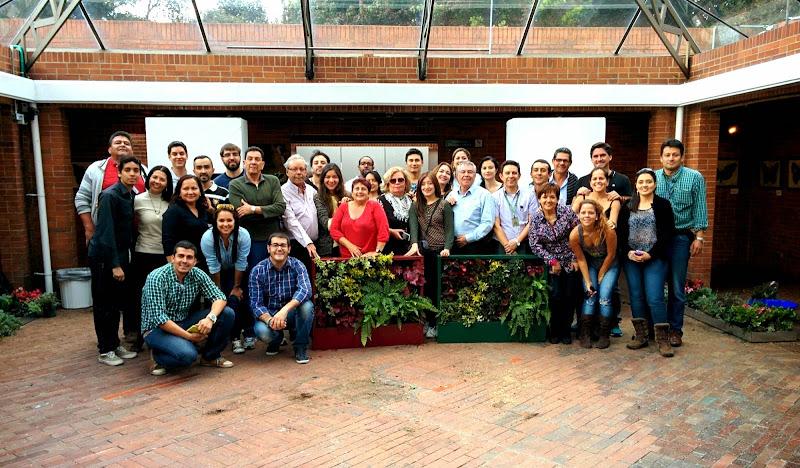 Curso de jardines verticales en Bogotá, Colombia