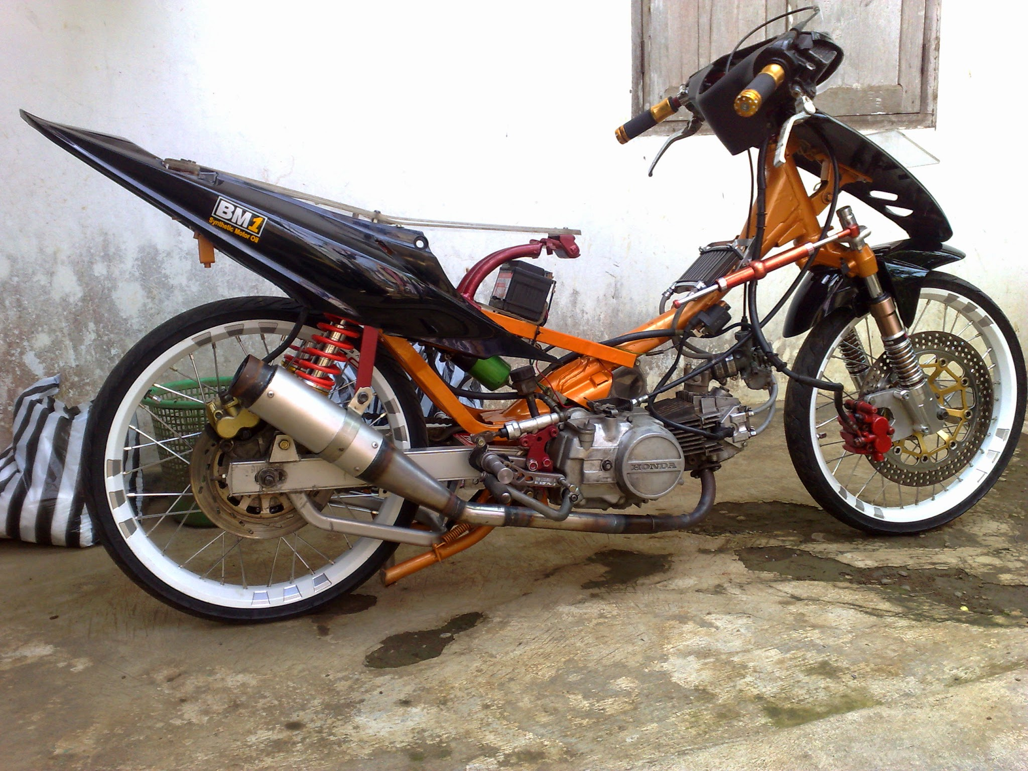 Honda Supra Fit Modifikasi Trail Thecitycyclist