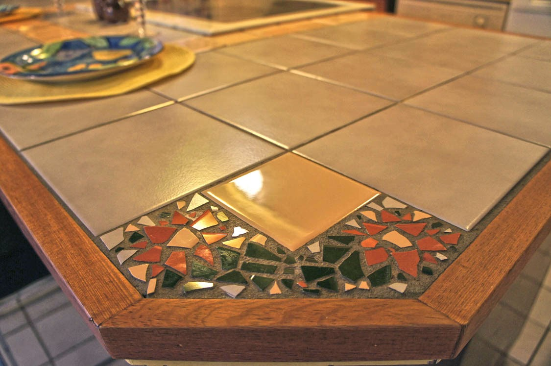 Custome tiled counters in homes for sale in Tempe AZ