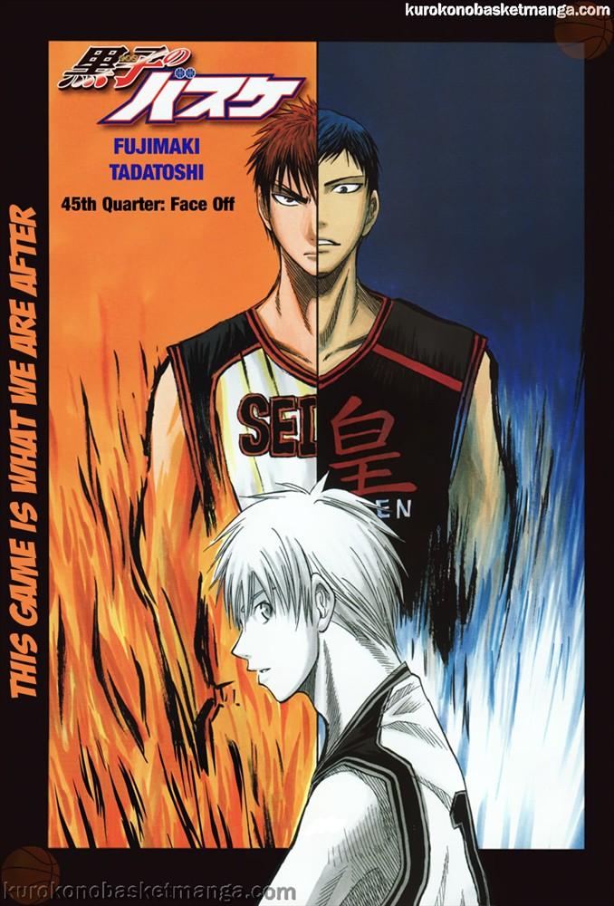 Kuroko no Basket Manga Chapter 45 - Image 01