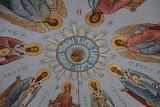Роспись купола храма Св.Николая Мирликийского Чудотворца г.Ижевск 2012