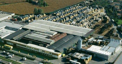 Εγκαταστάσεις εταιρείας κατασκευής ξύλινων βαρελιών και δεξαμενών κρασιού Garbellotto