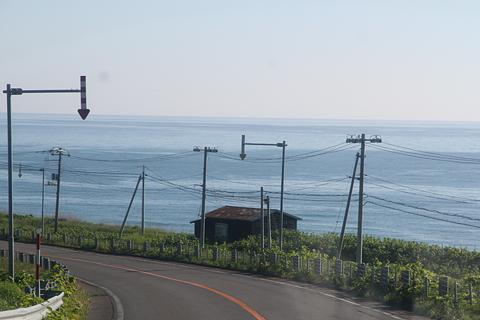 沿岸バス 豊富留萌線からの車窓 その7