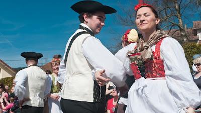 Trachtentanzgruppe aus Lothringen