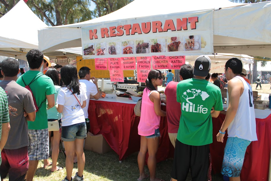 Korean festival food hawaii