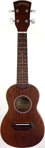 Lahaina Mahogany Long Neck Acoustic Soprano Ukulele  2005