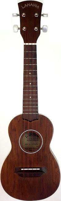 Kala Lahaina Mahogany Long Neck Soprano Concert Scale ukulele circa 2005