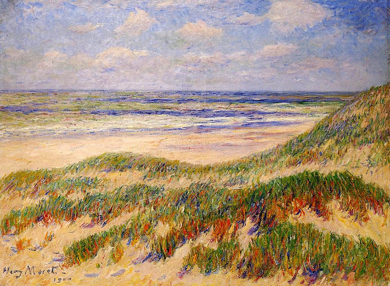 Henry Moret - The Dunes at Egmond, Holland, 1900