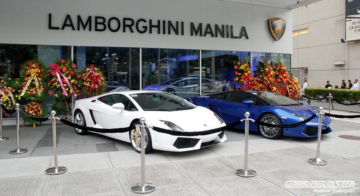 Lamborghini Manila inauguration