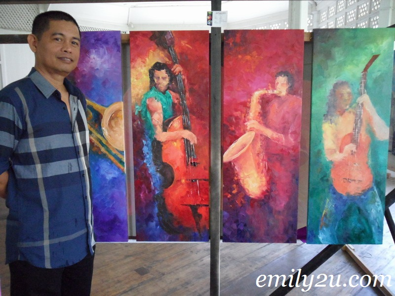 Art Tunes 2011 Julbert Maranon Solo Painting Exhibition