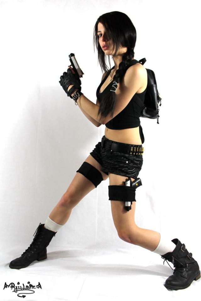 Ngắm nàng Lara Croft quốc tịch Trung Quốc - Ảnh 6