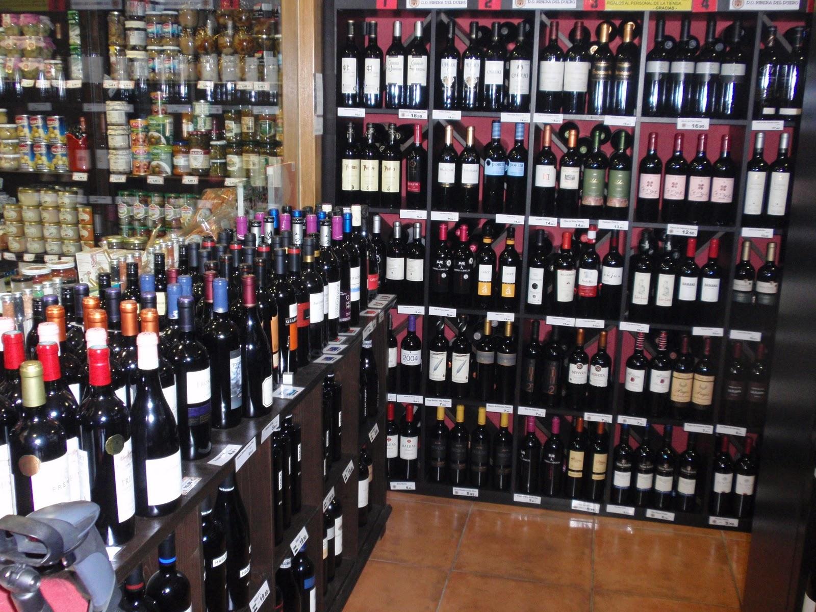 Vinos aceites y otros ricos productos de alimentaci n - Montar una vinoteca ...