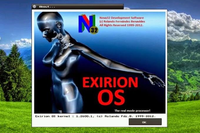 Exirion OS, nuevo SO libre y 100% mexicano